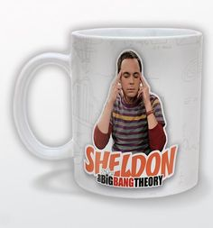 This fabulous new Big Bang Theory mug features a Sheldon Cooper design, the Caltech theoretical physicist geek from the cult US show. xoxo