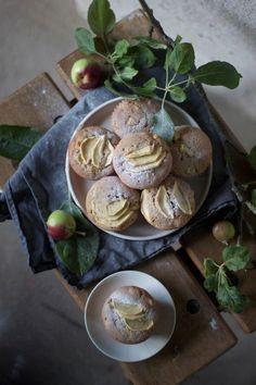 Gluten-free Apple Marzipan Muffins