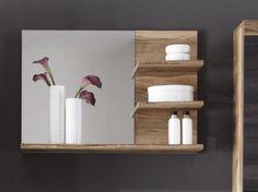 Badezimmer Spiegel Canbo - Nussbaum - Badezimmer Möbel-24221247