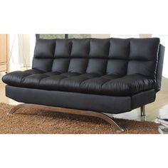 Coaster Futon Sofa Bed With Removable Arm Rests Brown Vinyl Http Www Dp B001iz9l0g Tag Nutrisup