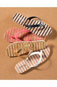 playful flip-flops