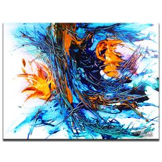 Free Acrylic Painting Techniques | Learn How To Paint Abstract Art Paintings by Peter Dranitsin