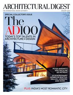Architectural Digest, January 2016