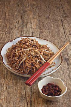 Hong Kong Soya Sauce Fried Noodles