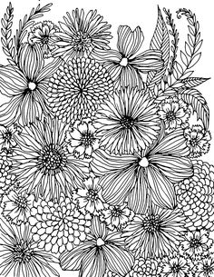Would be beautiful in a wood stamping Coloring Pages For Grown Ups, Free Coloring Pages, Coloring Books, Pattern Coloring Pages, Coloring Sheets, Zentangle, Doodle Drawings, Doodle Art, Printable Flower Coloring Pages
