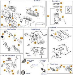 20+ Best 99-04 Grand Cherokee WJ Parts Diagrams images | cherokee, morris  4x4 center, jeepPinterest