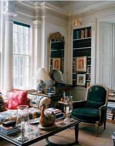 A ROOM WITH A VIEW- Oscar De La Renta | Mark D. Sikes: Chic People, Glamorous Places, Stylish Things