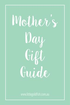 Mother's Day is just around the corner. I've curated an amazing selection of gifts perfect to bestow upon your mum/awesome mum friend this Mother's Day.