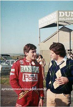 Ayrton Senna: Formula 1 /Senna (na Fórmula 3) e Gugelmin
