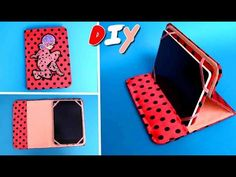 Case for tablet. How to make tablet case. How to make tablet cover. Today we are making a cool cover-book for your favorite tablet with yo. Tablet Cover, Ipad Tablet, Ipad Case, Make A Phone Case, Diy Cardboard Furniture, Coque Ipad, Paper Mache Crafts, Diy Bags Purses, Diy Case
