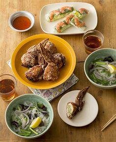 週末のゆったりごはん:4月のメニュー    ベターホームのお料理教室