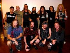 Iron Maiden and Dream Theater