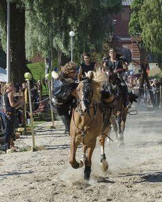 Hämeen keskiaikamarkkinat - Häme Medieval Faire 2012, Barbarian Horse Show, © Heikki Haavisto Horses, Animals, Animales, Animaux, Animal, Animais, Horse
