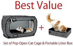 Cat Crates And Cages