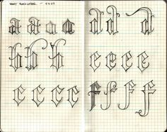 font ideas: Blackletter could be construed to make for a more specific font -- work with skull and bones style