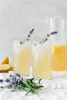 Lavender Lemonade | Downshiftology