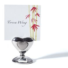 Heart in a Heart Place Card Holders $29.95