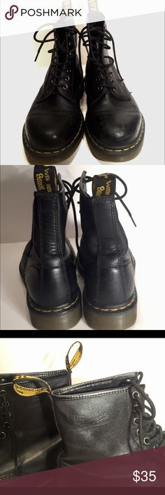 Dr Martens Boots Men's 9 Boots are in good condition with no major flaws! These boots have plenty of life left in them!! Dr. Martens Shoes Boots