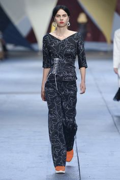 By Malene Birger Copenhagen Spring 2019 Fashion Show Collection- Need some heels.
