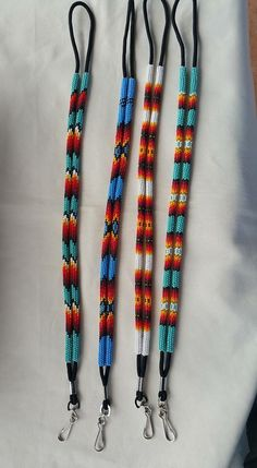 Beaded lanyards