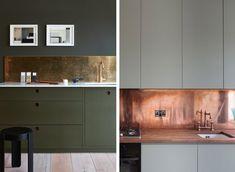 Stänkskydd i köket – marmor, kakel, koppar, mässing och betong - Inredning: Kök, Inredning: Ytskikt - Husligheter