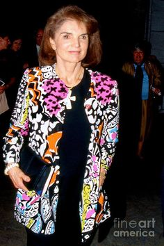Mrs. Onassis out on the town in 1993.