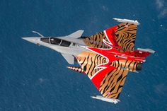 French Armée de l'Air Dassault Rafale in special scheme for Nato Tiger Meet 2014 – photo O.Ravenel – Armée de l'Air.