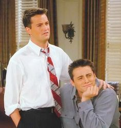 Matthew Perry and Matt LeBlanc