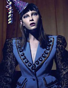Trompe-Loeil. Special Schiaparelli Haute Couture A/W 2014-15 (ODDA Magazine)