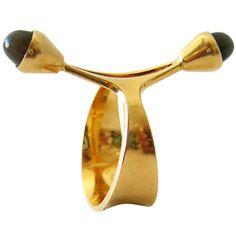 Elis Kauppi for Kupitaan Kulta Gold Spectrolite Ring