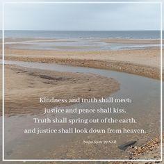 Psalm 85: 11-12 NAB