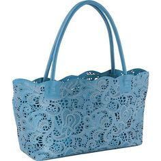 small lace tote. cute for spring!