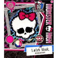Monster High Latch Hook Design Activity