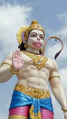 Hanuman Chalisa Mantra, Hanuman Jayanthi, Lord Hanuman Wallpapers, Hanuman Images, Lord Shiva Family, Lord Shiva Painting, Goddess Lakshmi, Hindu Deities, God Pictures