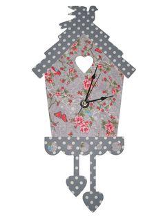 #klok voor een grijze #meisjeskamer www.kids-ware.nl