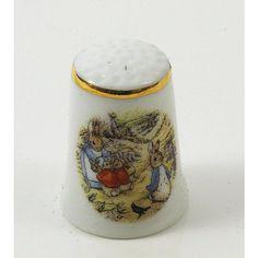 Pictures by Beatrix Potter | Beatrix Potter Thimble
