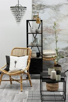 SPRING / SUMMER 2015, Lene Bjerre Design, CLARA COLL. chair, DEPOT COLL. bookcase, DEPOT COLL. sidetable, CORDELIA LIGHTING, ABALA COLL. cushion & ADRIENNE COLL. vases