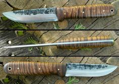 ML Straight Back Kephart bushcrafting knife