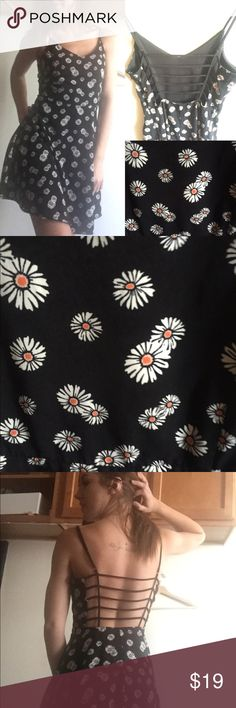 Open Back Daisy Dress Open Back L.A Hearts Daisy Dress! Size Medium! Like new ! PacSun Dresses