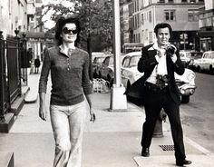 Jackie Kennedy & Ron Galella 1971