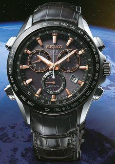 Seiko Astron GPS Solar Chronograph Titanium SSE023J1