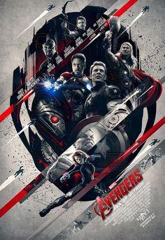 Avengers Unite || Avengers: Age of Ultron || #promo #art