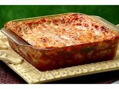 Homemade Microwave Lasagna