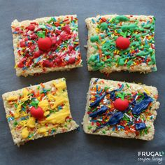 Back to School Rice Krispie Treats and Rice Krispie Treats for Every Season and Taste on Frugal Coupon Living