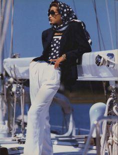 """Ongoing Appeal"", Vogue US, December 1986 Photographer : Patrick Demarchelier Model : Christy Turlington"