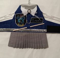 Halloween Harry Potter Hogwarts Uniform/ Harness Vest or Dress/ Gryffindor, Slytherin, Hufflepuff, Ravenclaw/ Custom Orders/ by TWYNX on Etsy