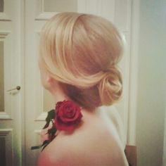 #hair #rose