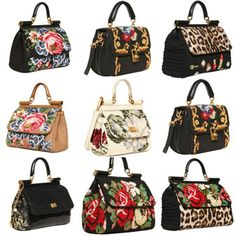 milano mode: Dolce & Gabbana Miss Sicily Bags