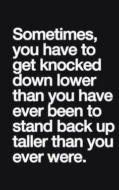 Always get back up