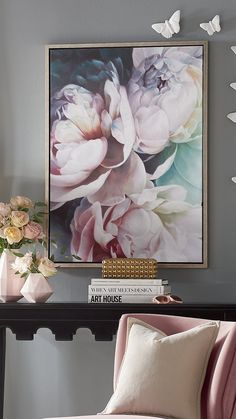 900 Large Flower Paintings Ideas In 2021 Flower Painting Large Flowers Flower Art